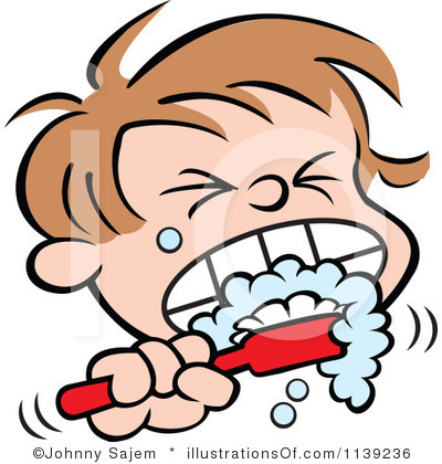Teeth boy clip art. Brush clipart thooth