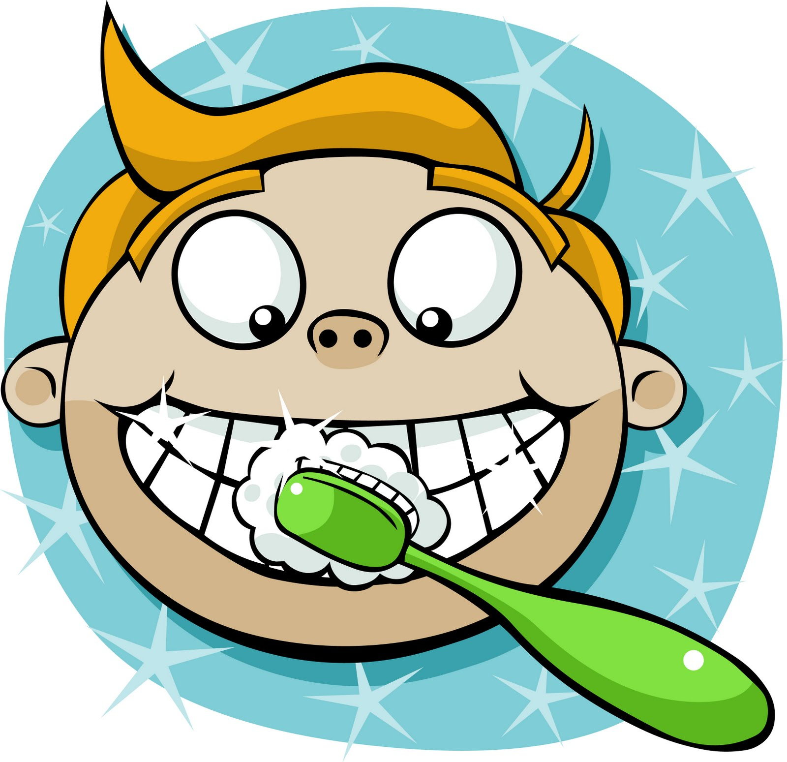 Free brushing teeth cliparts. Mouth clipart brush