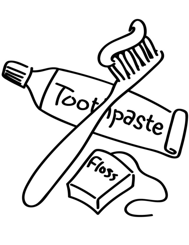 Brush clipart tooth paste. Teeth drawing at getdrawings