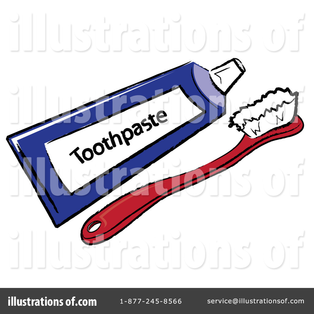 Illustration by pams royaltyfree. Brush clipart toothbrush
