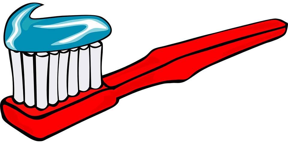 Red toothbrush png stickpng. Brush clipart transparent background