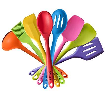Brush clipart utensil. Amazon com ttlife rainbow