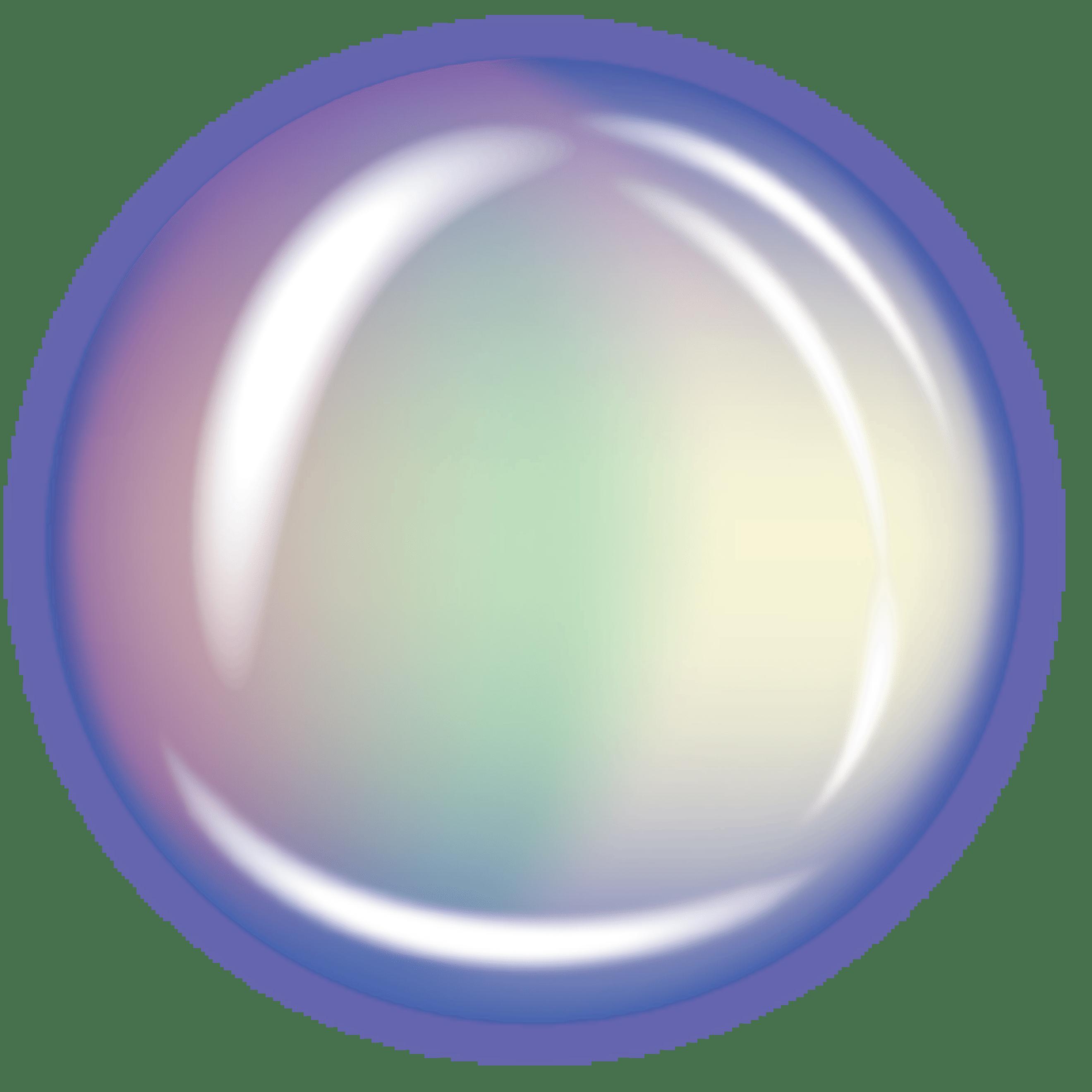 Transparent clip art creation. Bubble clipart