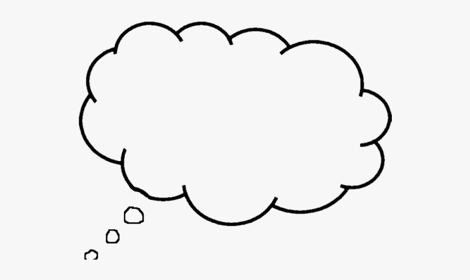 Transparent animated png . Thoughts clipart thought bubble