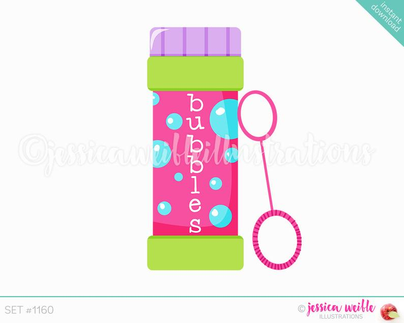 Instant download of bubbles. Bubble clipart bubble bottle