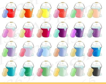 off bubbles clip. Bucket clipart bubble