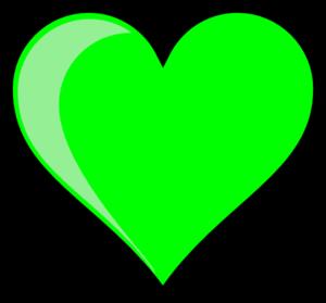 Neon green clip panda. Bubble clipart heart