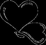Custom personalized drinkware www. Bubble clipart heart