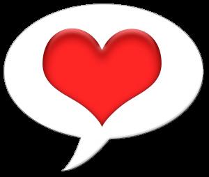 Bubble clipart heart. Free talk pinterest clip