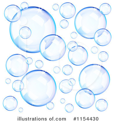 Bubble clipart illustration. Bubbles by oligo royaltyfree