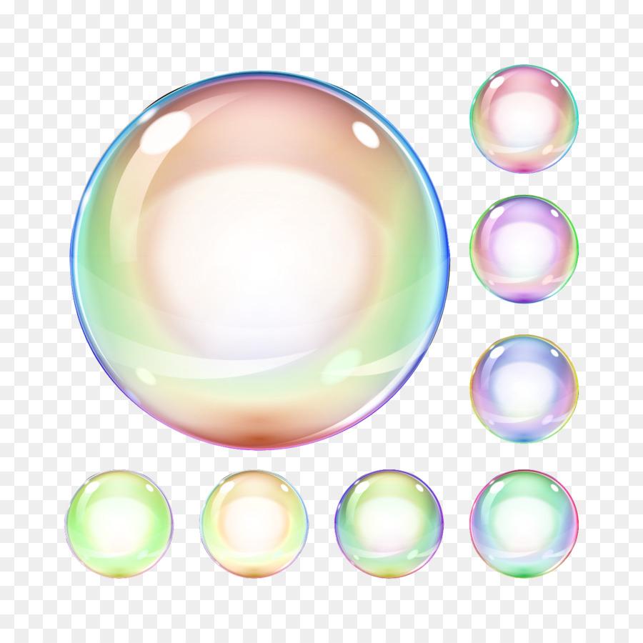 Color colored bubbles png. Bubble clipart soap bubble