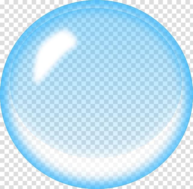 Soap blue transparent . Bubble clipart water bubble