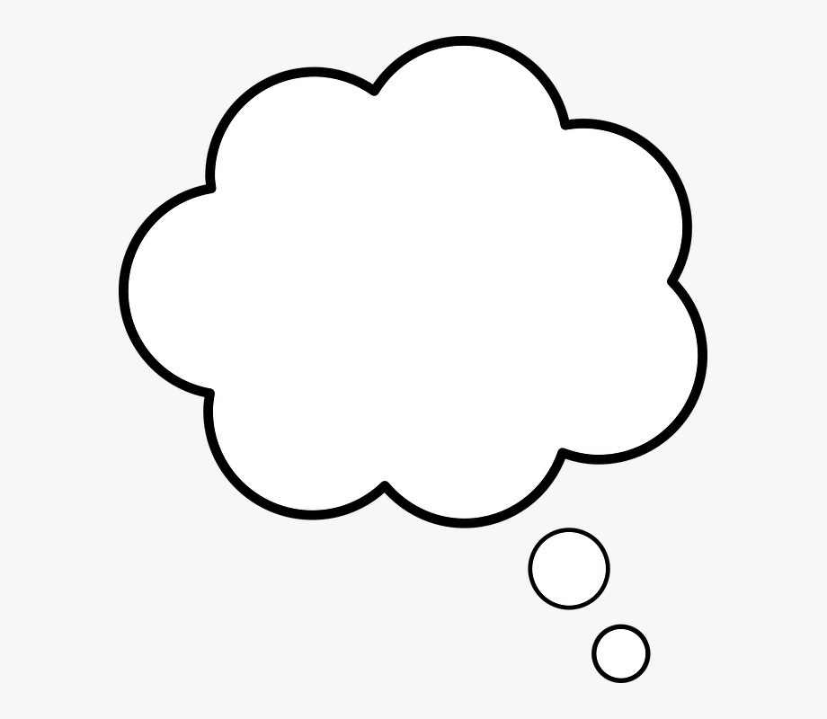 Cloud speaking speech talk. Clouds clipart thought bubble