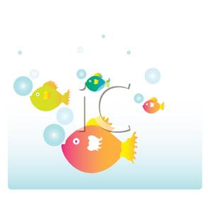 Bubbles clipart fish. Swimming with royalty free