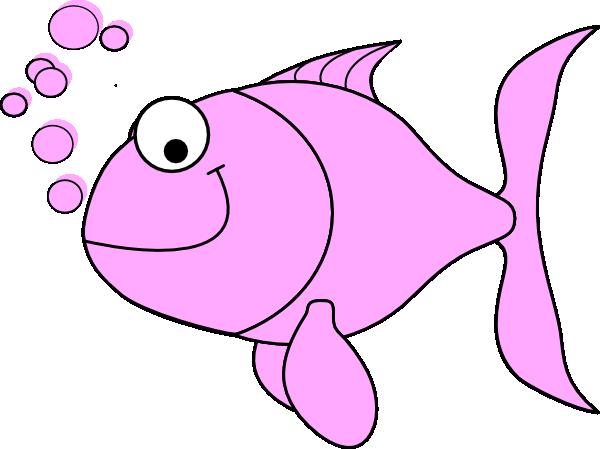 Bubbles clipart fish. Pink clip art at