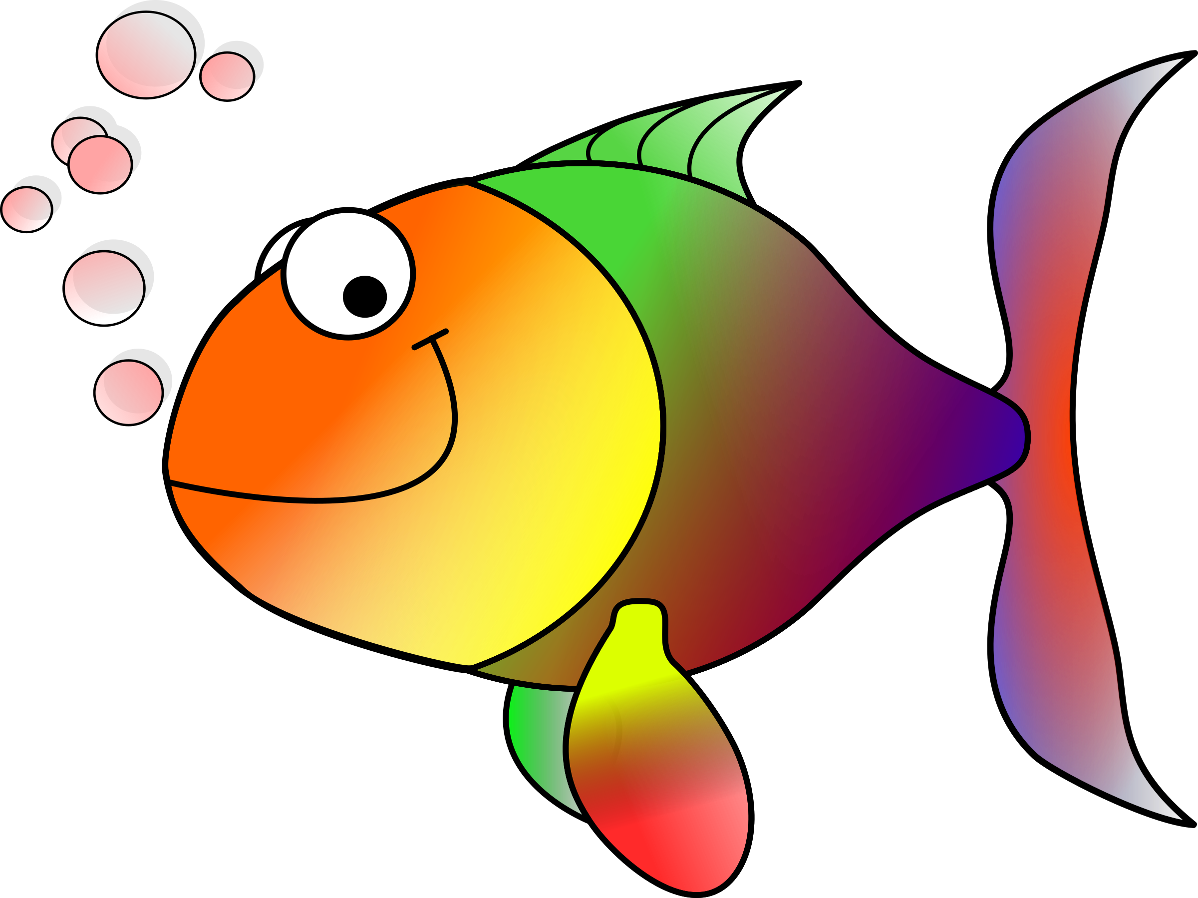 The shire by mgriffiths. Bubbles clipart fish
