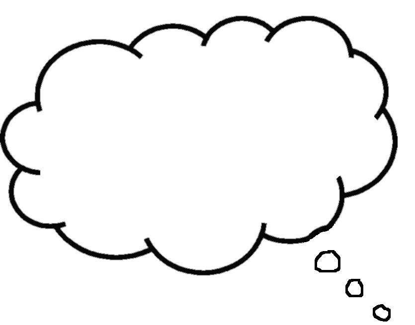 Free thought download clip. Bubbles clipart printable