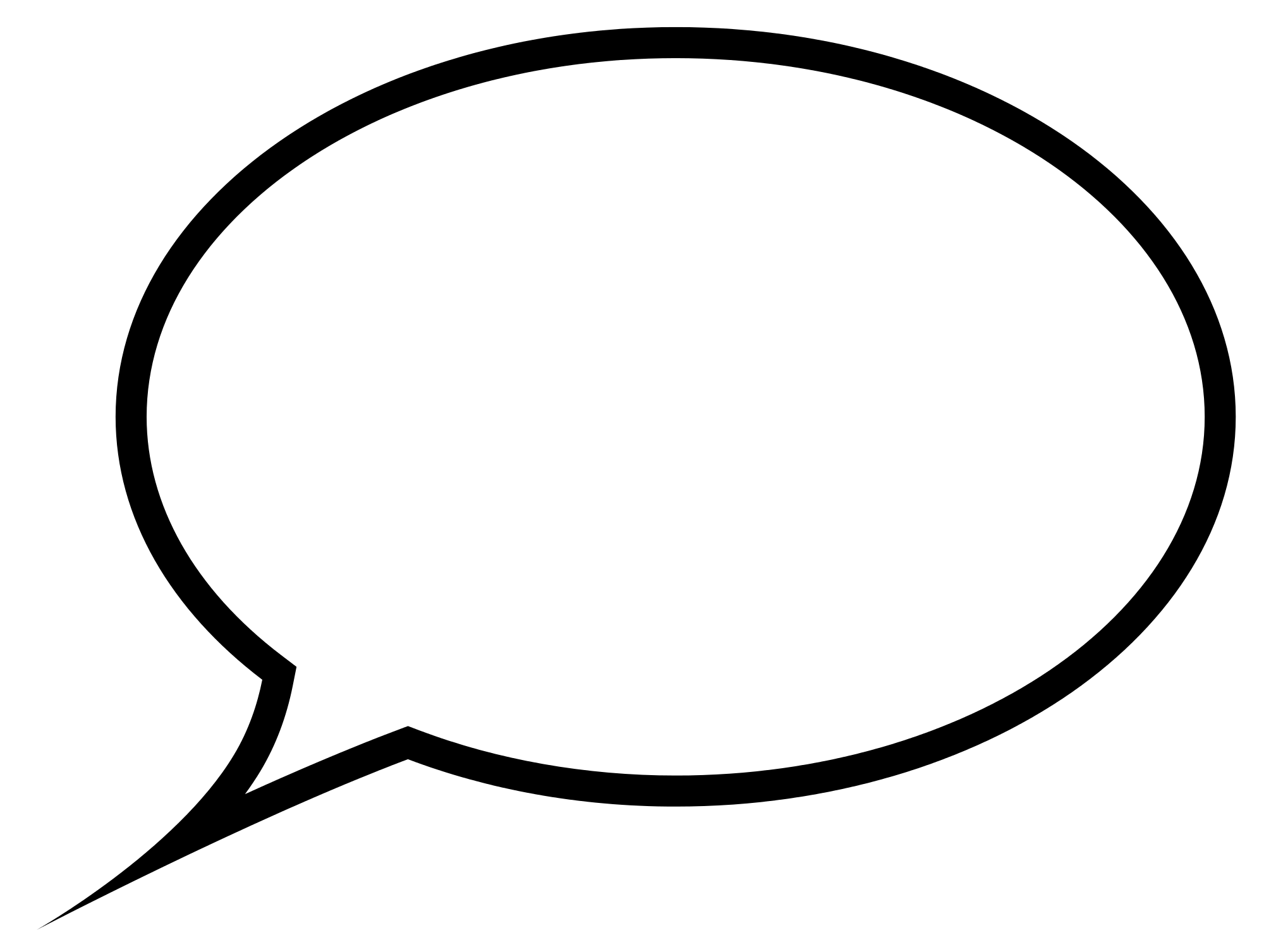 Transparent png stickpng download. Conversation clipart speech bubble