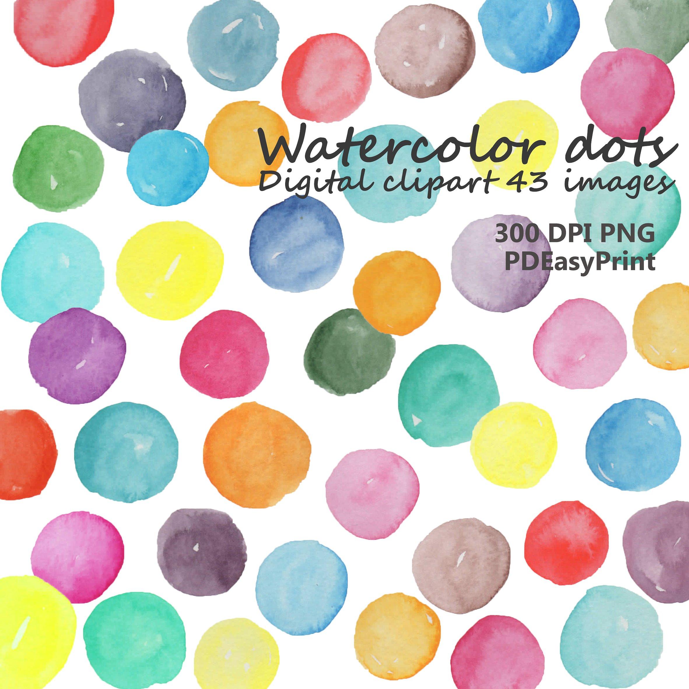 Background clipart bubble. Watercolor dot dots illustrations