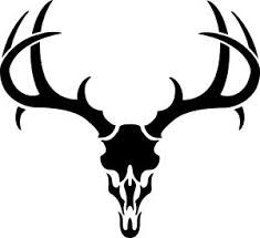 Buck clipart. Deer silhouettes of clip
