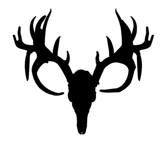 Antler at getdrawings com. Antlers clipart silhouette