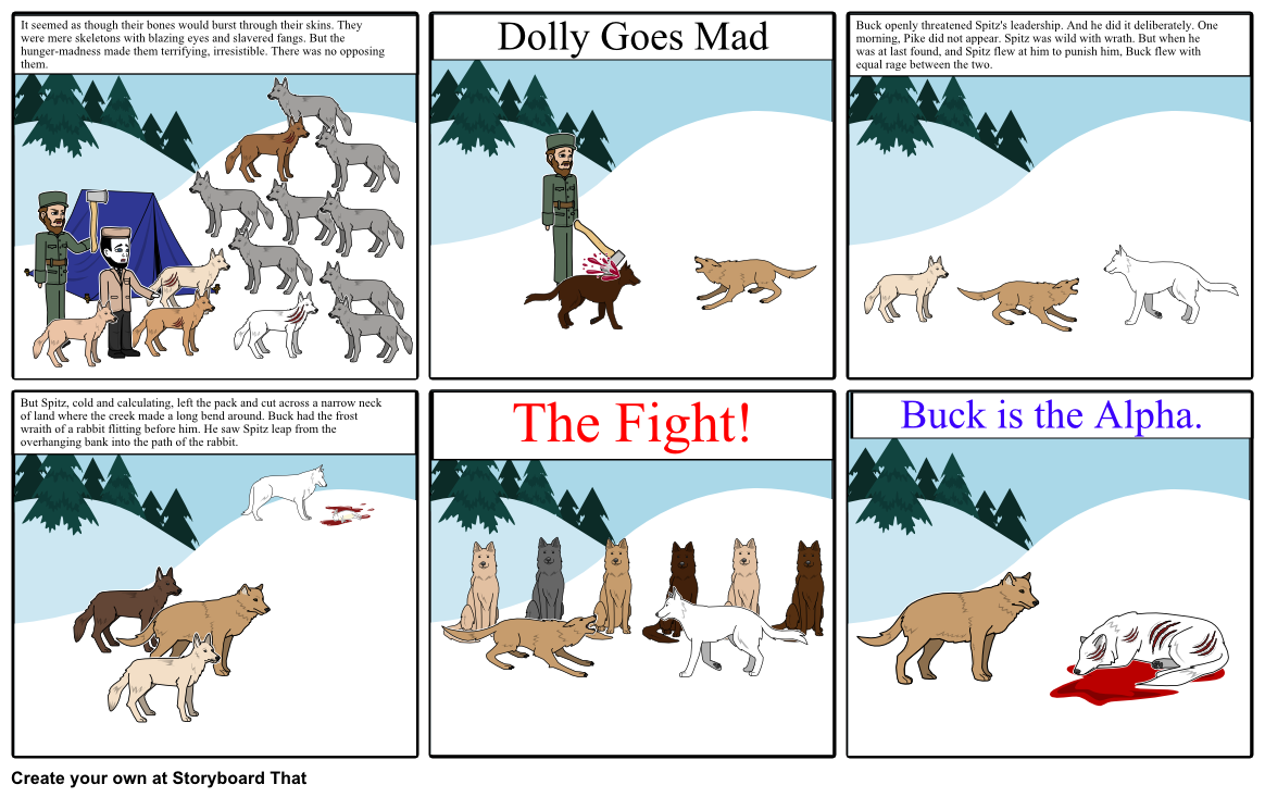 Buck clipart call the wild. Of activity storyboard by