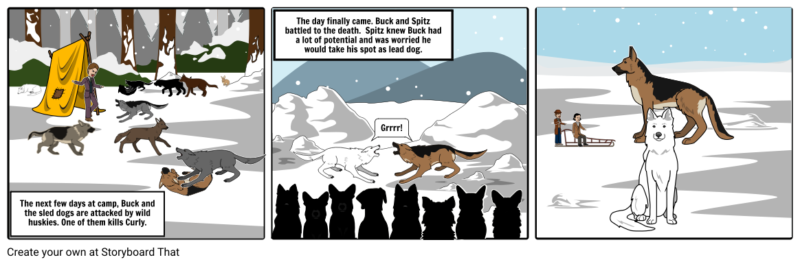 Of storyboard by rebekahhangen. Buck clipart call the wild