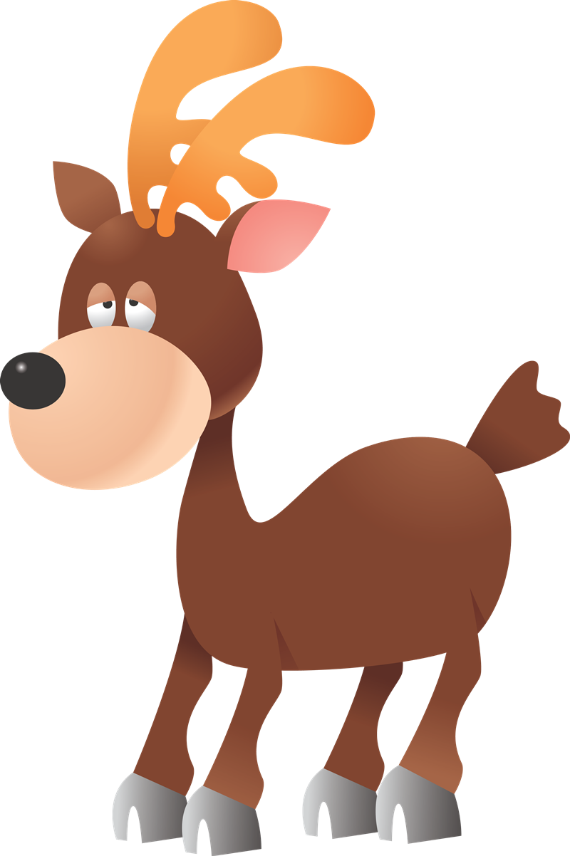 Deer clipart girly. Cartoon collection baby cute