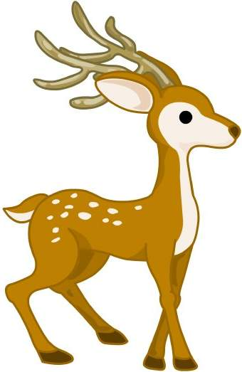 Animals clipart deer.  collection of easy