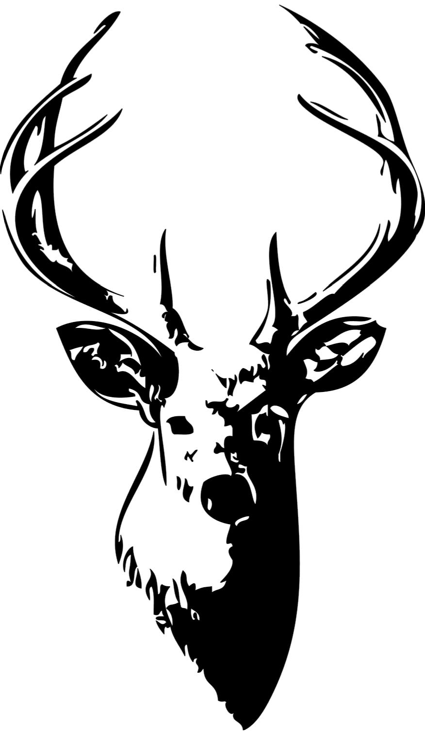 Buck clipart white tailed deer. Free whitetail cliparts download