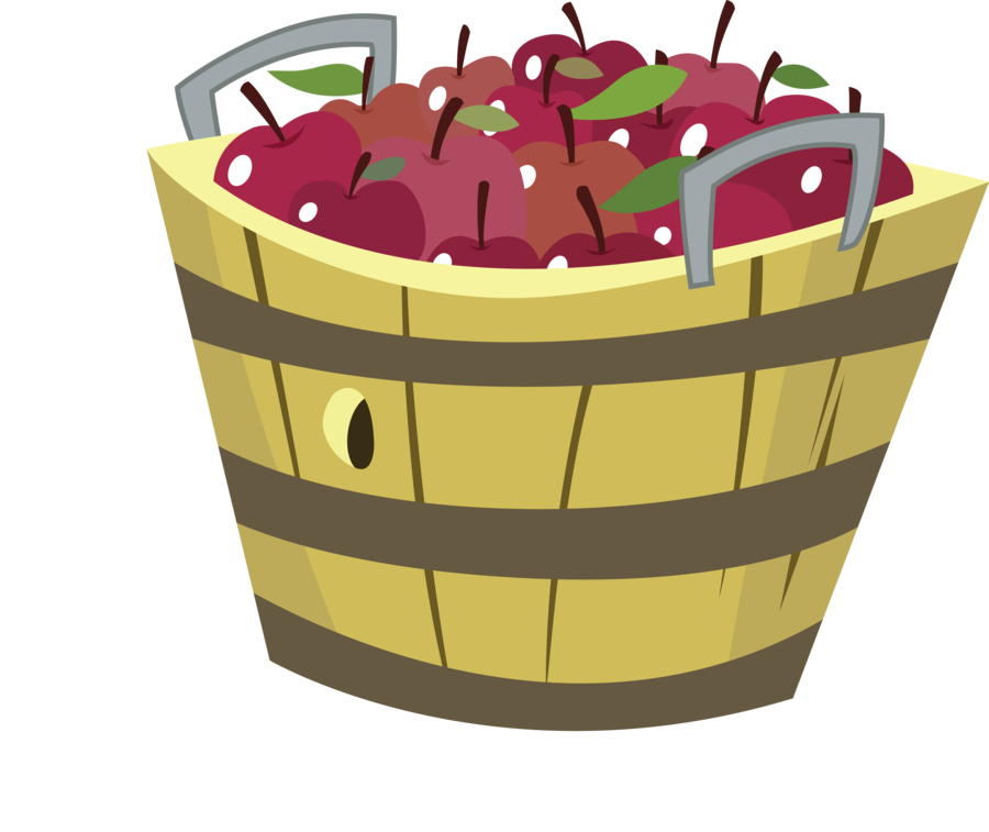 Bucket clipart apple. Image basket o apples