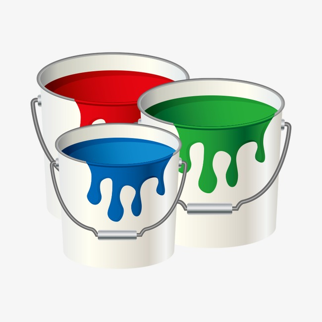 Paint environmental protection bucketpaint. Bucket clipart balde