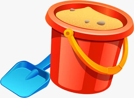 Bucket clipart balde. Shovel png image and