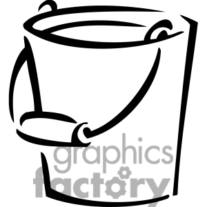 Paint clip art panda. Bucket clipart black and white