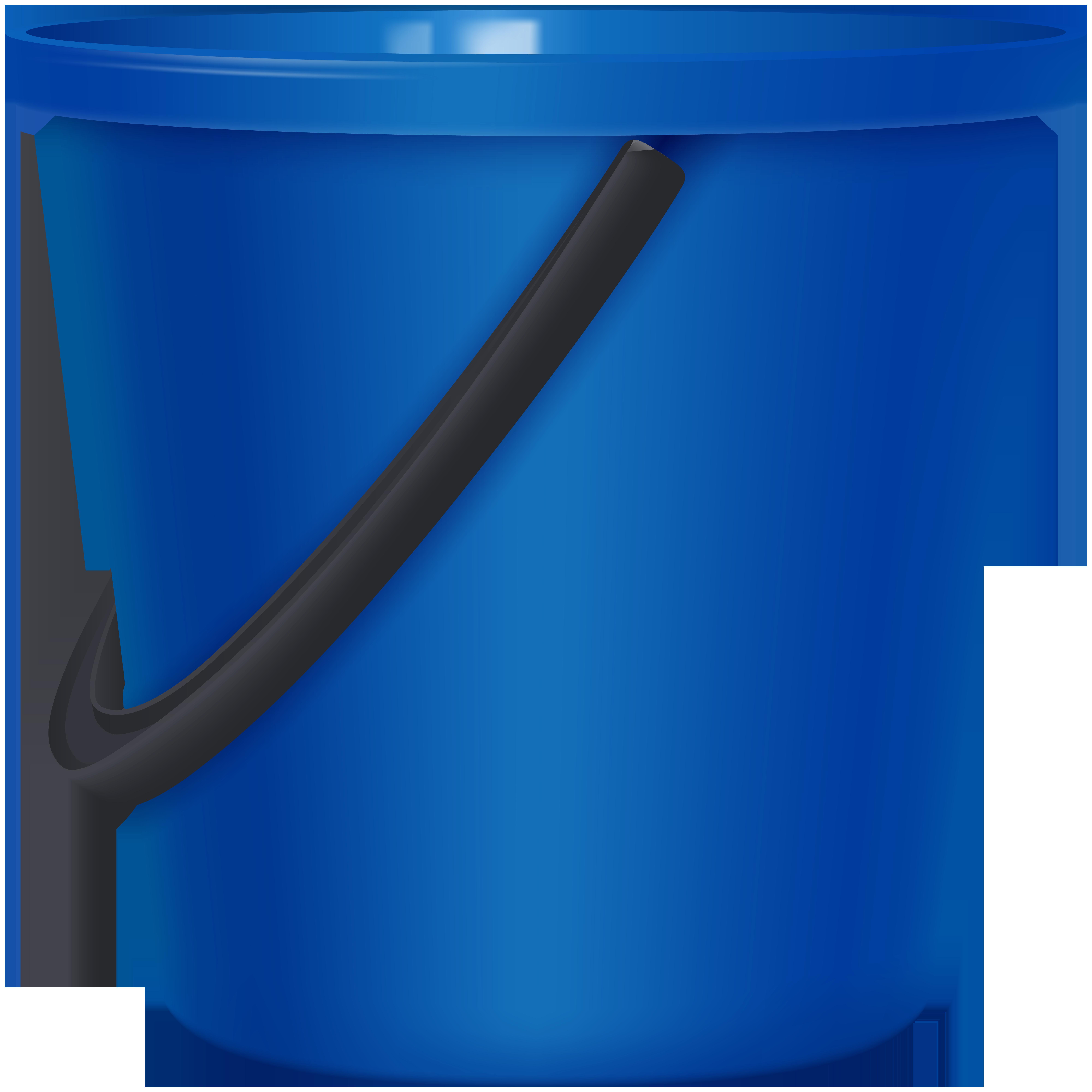Png clip art best. Bucket clipart blue bucket