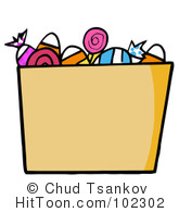 Bucket clipart candy. Halloween green trick or