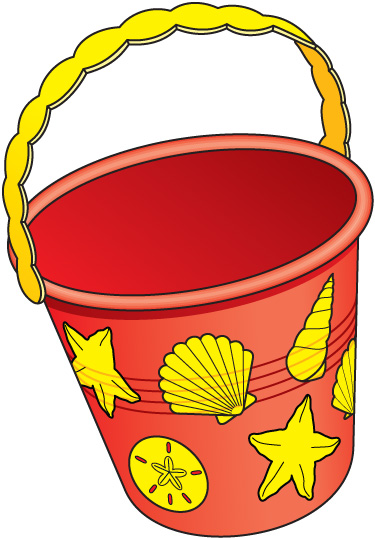 Bucket clipart cartoon. Nice clip art jpg