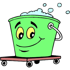 Cliparts of free download. Bucket clipart cartoon