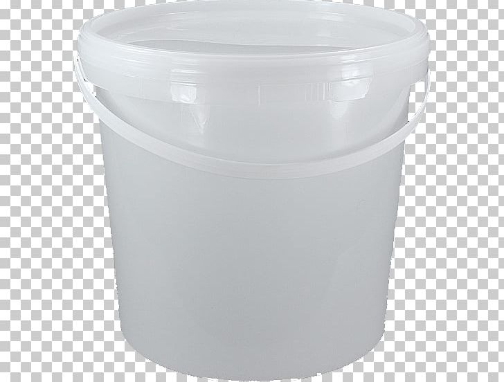 Plastic lid food storage. Bucket clipart container