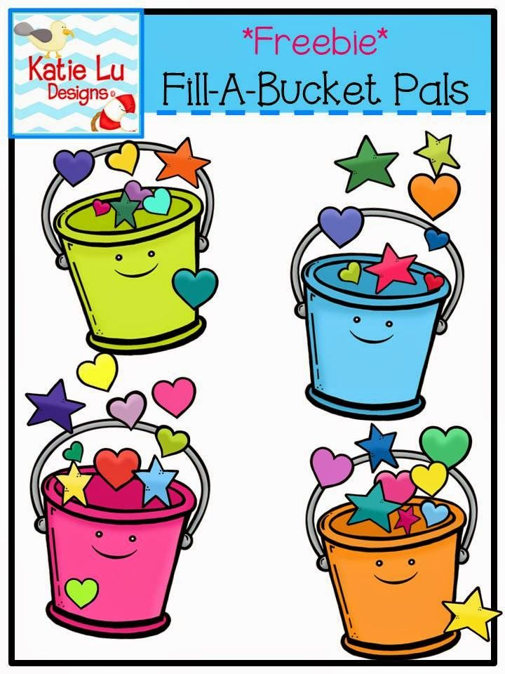 Blue bayou bliss fill. Bucket clipart cute