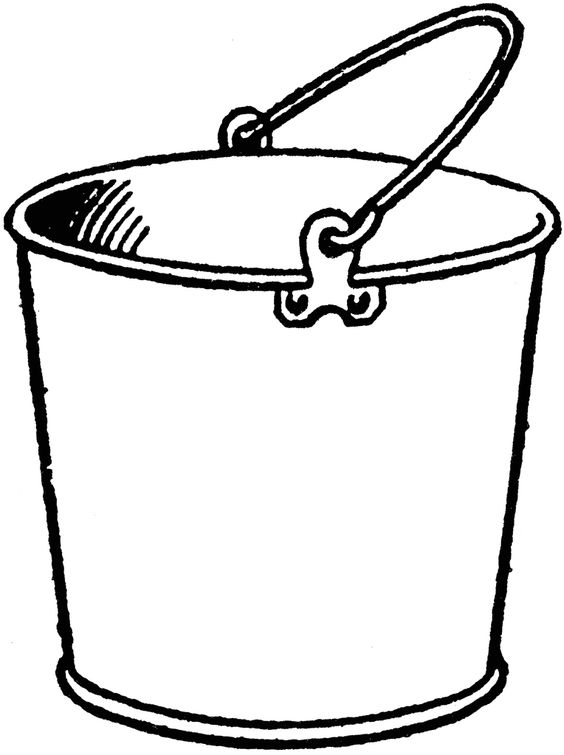 Free filling cliparts download. Bucket clipart empty