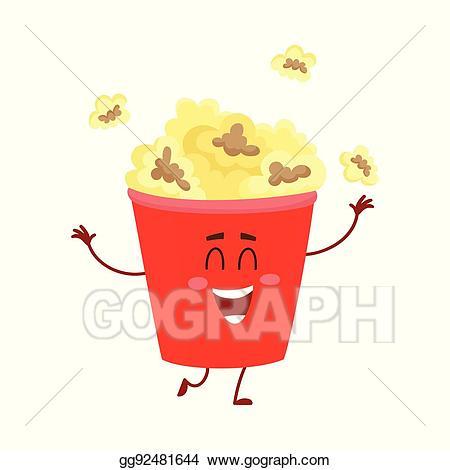 Bucket clipart face. Eps vector funny cinema