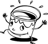 Bucket clipart face. Paint clip art a