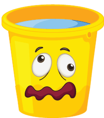 Bucket clipart face. Buckets with faces the