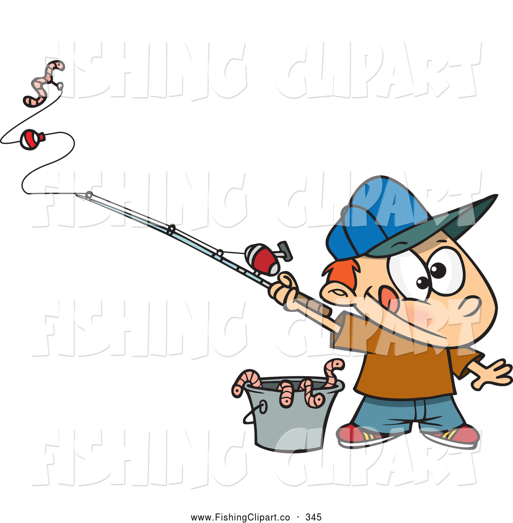 Bucket clipart fishing. Clip art of a