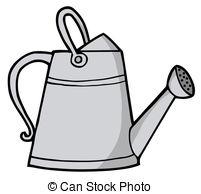 Garden clipart bucket. Water pencil and in