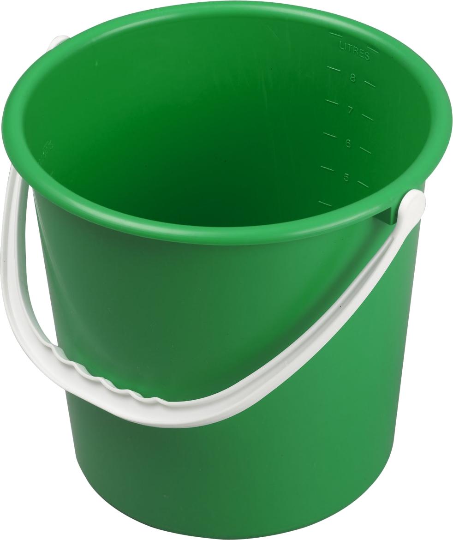 green clipart pail