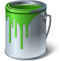 Bucket clipart green bucket. Iconexperience v collection paint