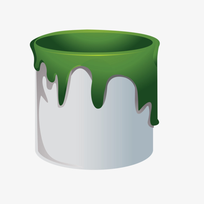 Bucket clipart green bucket. Paint png image and
