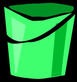 Bucket clipart green bucket. Color wheel of red